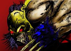 lobezno (j.sanchezmolina) Tags: color photoshop comic dibujo ilustracion lobezno