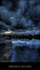 Bad weather rolling in...(so much for holiday weather!) (Jerimias Quadil) Tags: lake reflection clouds canon artistic expression stock 1020 nosunset widelens approachingrain diamondclassphotographer jerimiasquadil