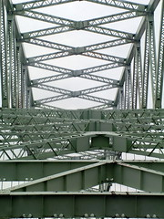 New Years Day 010108 (motti82) Tags: bridge metal liverpool runcorn