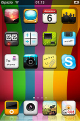 rainbow relize theme for iphone