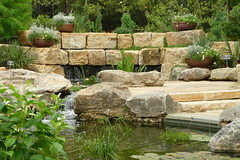 garden waterfall pond