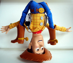 hip hop woody (nicouze) Tags: macro colors fun toy cowboy couleurs woody humour disney story pixar hiphop catchy jouet