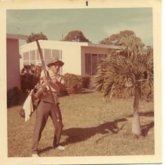 George Gifford Master Sportsman (mikehalby) Tags: hat golf george grandfather scan bow arrow sportsman grandaddy lauderdalemanors