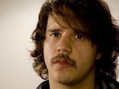 hey ya (joshua.turner) Tags: portrait selfportrait moustache ringlight strobist strobing diyringflash