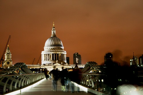 St Paul's at Night. Ghost People