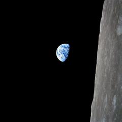 [フリー画像] [地球/アース] [宇宙/スペース] [月の風景]        [フリー素材]