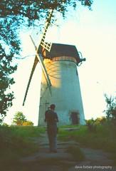 Bidston Windmill on The Wirral  (Dave Forbes Images) Tags: england unitedkingdom windmills picnik merseyside deeside bidston watermills summerevenings thewirral bidstonwindmill summereveningstroll daveforbesphotography heritagewindmills thewirralwindmill