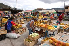 Fruit section of the market