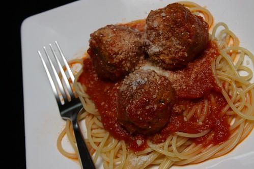 spaghetti & meatballs!
