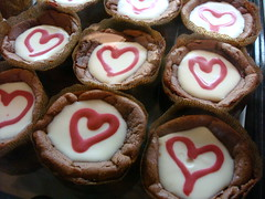 More Heart Cheesecakes