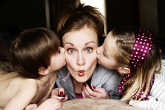 work at home mom with kids