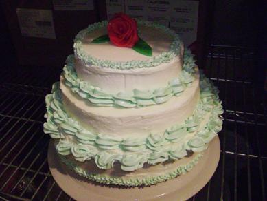 Sonny's (?) class cake