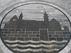 Marble floor tiles, Oslo City Hall, Oslo, Norway (Bolckow) Tags: oslo norway radhus