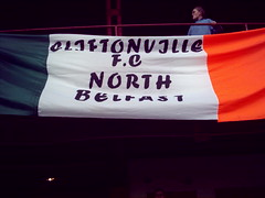 Cliftonville FC North Belfast (redinbelfast) Tags: ireland irish football league