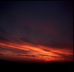 sun almost set