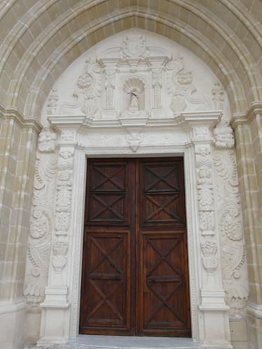 Portal principal de l'Església de Santa Eulàlia (Alaior)