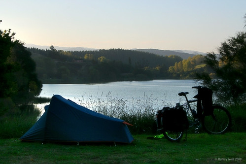 Campsite at Lake Tutira