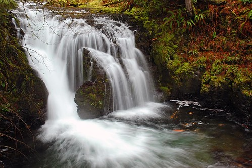 Little Multnomah Falls