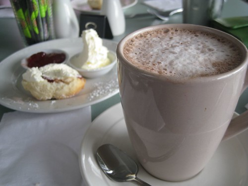 Hot Chocolate and Scones