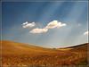 Light Rays (MiaRossy) Tags: light tuscany rays valdorcia