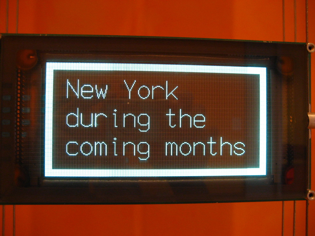 New York during the coming months
