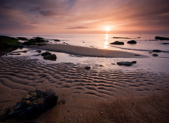 Kingsbarns Beach Dawn (David Kendal) Tags: seascape beach sunrise dawn fife shore seashore daybreak kingsbarns eastneukoffife eastneuk fifeness