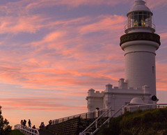 Sunset at Byron Bay lighthouse (Nikonsnapper) Tags: byronbay australia2008 theloveshack project3662008may exploremay22008315 nikonsnapper
