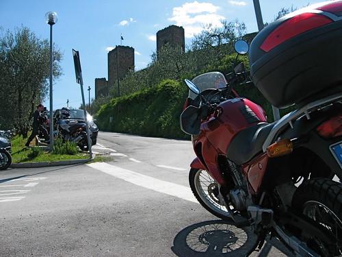 Parcheggio a Monteriggioni