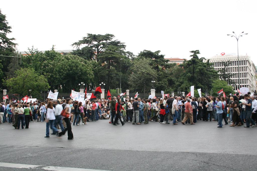 Manifestación contra la privatización 04