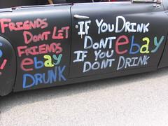 """Friends Don't Let Friends"" #76 - Houston Art Car Parade 2008 (Mr. Kimberly) Tags: artcar artcarparade 2008artcarparadehoustontx"