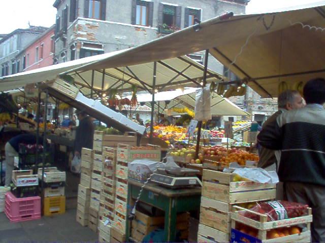 Europe 2005 Venice Market