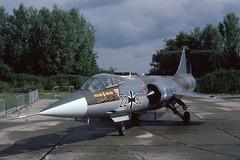 F-104G Luftwaffe (Rob Schleiffert) Tags: lockheed f104 starfighter luftwaffe germanairforce leeuwarden jbg34 memmingen