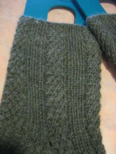 sideways ribbing