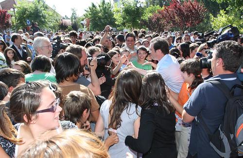 Pedro Passos Coelho visitou Colégio do Calvão