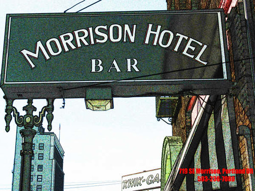 Morrison Hotel Bar, Portland, Oregon