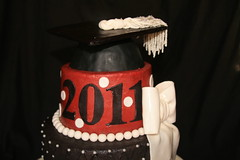 """Sugar graduation cap made by hand • <a style=""""font-size:0.8em;"""" href=""""http://www.flickr.com/photos/60584691@N02/5822890410/"""" target=""""_blank"""">View on Flickr</a>"""