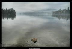 Uncertain Landscape (Arnold Pouteau's) Tags: sunset misty foggy upstatenewyork hazy adirondack lakeplacid