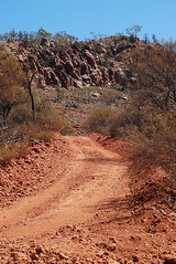 exploration access track on the flanks of mount gee - link to my Arkaroola Sanctuary - would U mine it? set on flickr