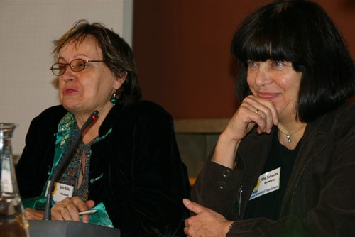 Fringe meeting uitstekend geleid door Anita Kelles (Finland) en Ute Schmitz (Duitsland).