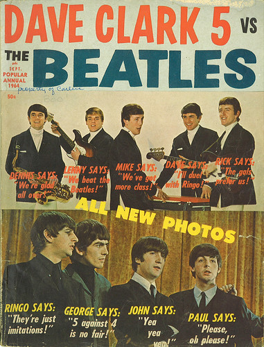 Dave Clark 5 vs. The Beatles