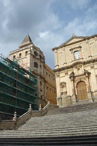 Church of San Francesco & Convento del Santismo Salvatore, Noto, Sicily