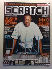 Dr.Dre Scratch magazine Volume 1 Summer 2004.jpg (Rap magazine scans) Tags: summer 2004 magazine 1 scratch volume drdre