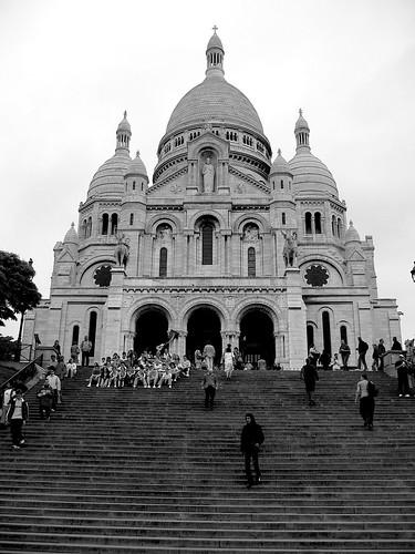 Sacre Coeur Steps