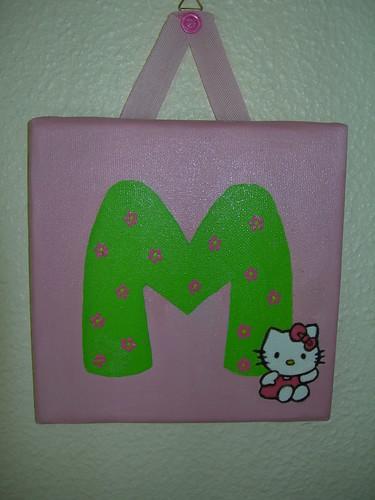 Letras com a Hello Kitty