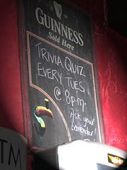 Trivia Quiz 8pm