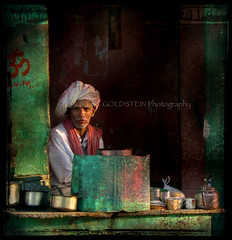 """Oh, Time Will Pass Away, Sir"" (designldg) Tags: pink portrait people india man green colours elder turban om breathtaking rajasthan aum   amazingtalent pranava indiasong hourofthediamondlight avertedvision praava"