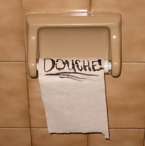 DOUCHE!