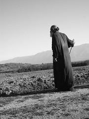 (*polet*) Tags: bw white black beard shepherd macedonia priest orthodox stbaldovci