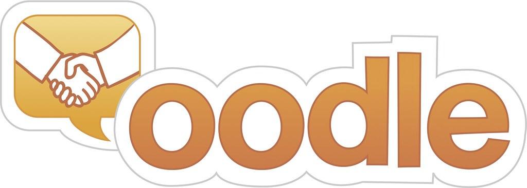Oodle logo (handshake)