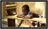 La petite du banc (Laurent.Rappa) Tags: voyage africa unicef travel portrait people face children child retrato laurentr enfant ritratti ritratto regard côtedivoire peuple afrique ivorycoast blueribbonwinner ivorycost funfanphotos laurentrappa